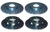 Cortina and Fiesta 'Ultralight' Brake Discs - Full Set